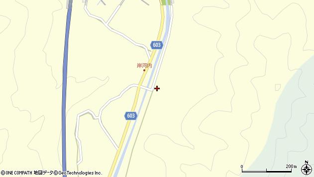 大分県佐伯市長谷2324周辺の地図