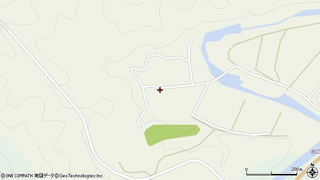 大分県佐伯市直川大字下直見371周辺の地図