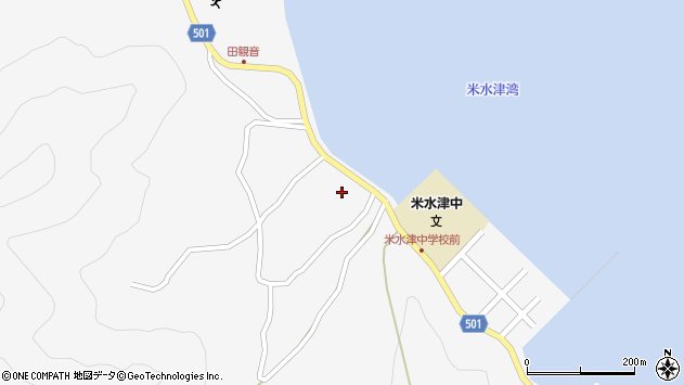 大分県佐伯市米水津大字浦代浦1485周辺の地図