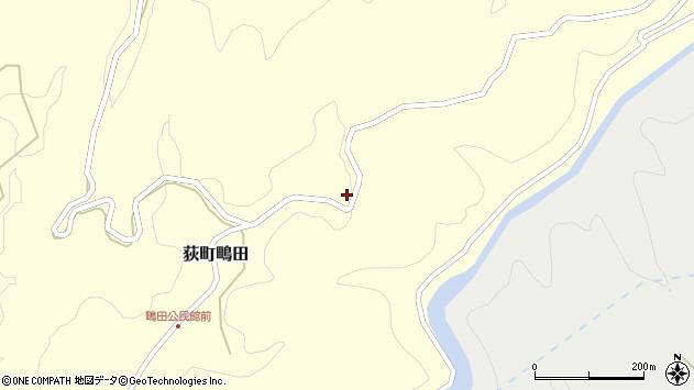 大分県竹田市荻町鴫田6841周辺の地図