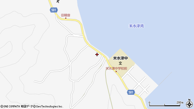 大分県佐伯市米水津大字浦代浦1484周辺の地図
