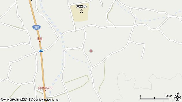 大分県佐伯市木立3369周辺の地図