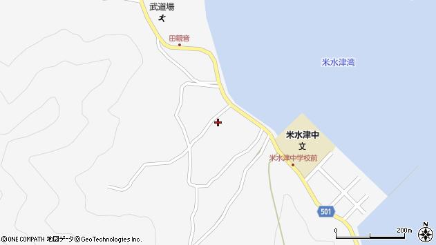 大分県佐伯市米水津大字浦代浦1282周辺の地図