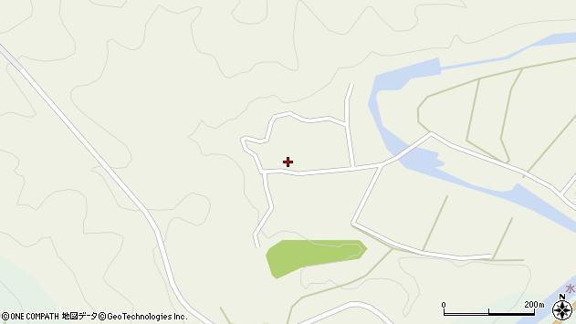 大分県佐伯市直川大字下直見431周辺の地図