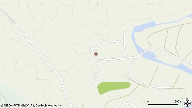 大分県佐伯市直川大字下直見424周辺の地図