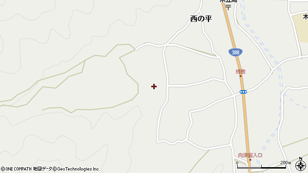大分県佐伯市木立1340周辺の地図