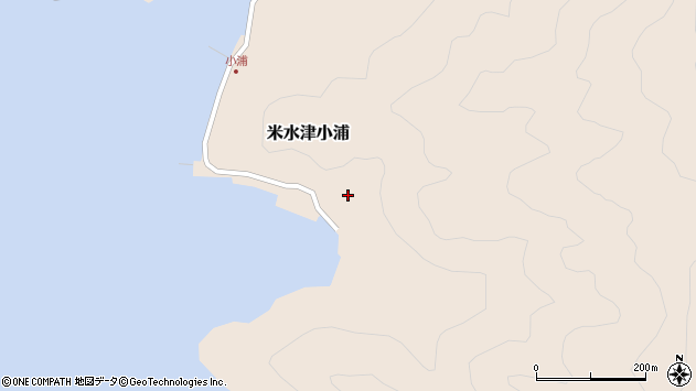 大分県佐伯市米水津大字小浦楠ノ浦周辺の地図