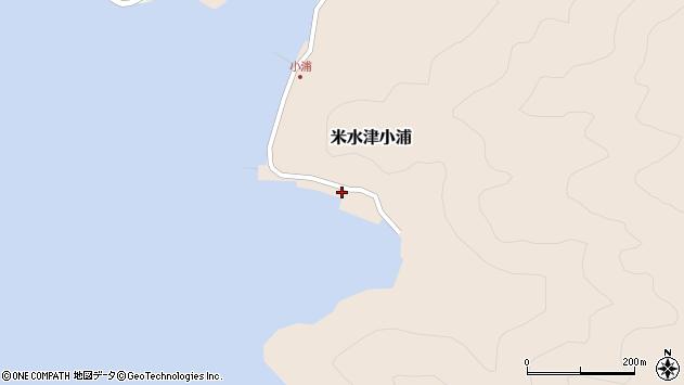 大分県佐伯市米水津大字小浦58周辺の地図