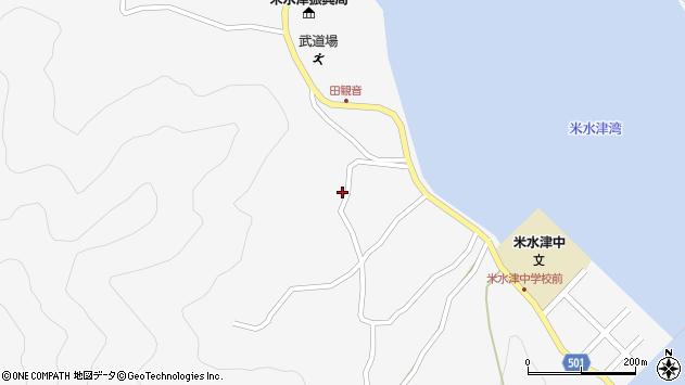 大分県佐伯市米水津大字浦代浦1306周辺の地図