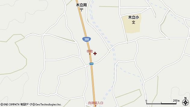 大分県佐伯市木立1451周辺の地図