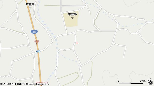 大分県佐伯市木立3367周辺の地図