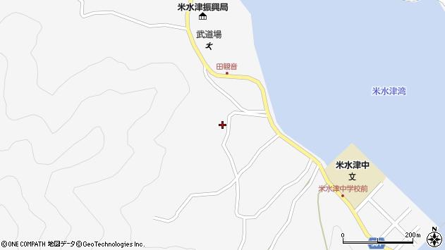 大分県佐伯市米水津大字浦代浦1305周辺の地図