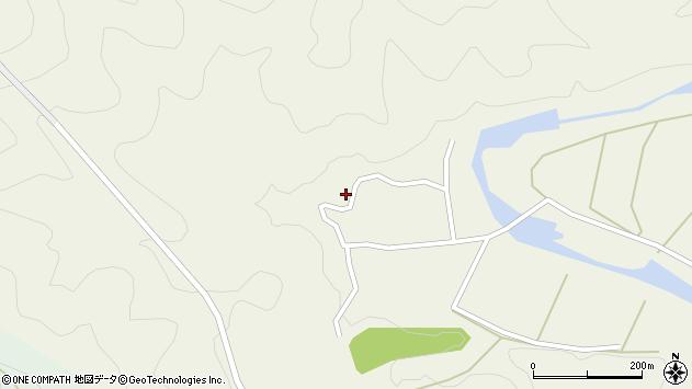 大分県佐伯市直川大字下直見807周辺の地図