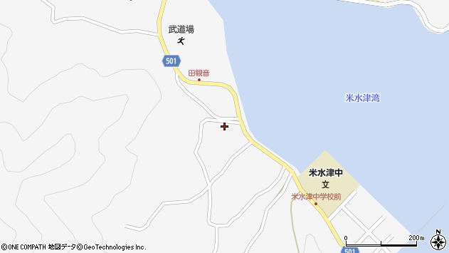 大分県佐伯市米水津大字浦代浦1280周辺の地図
