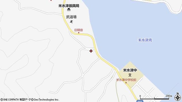 大分県佐伯市米水津大字浦代浦1279周辺の地図