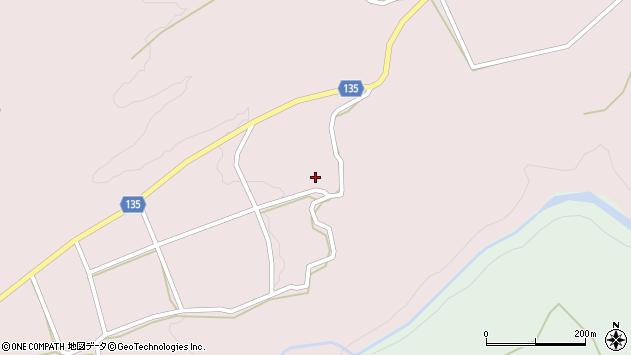 大分県竹田市荻町桑木桑木周辺の地図