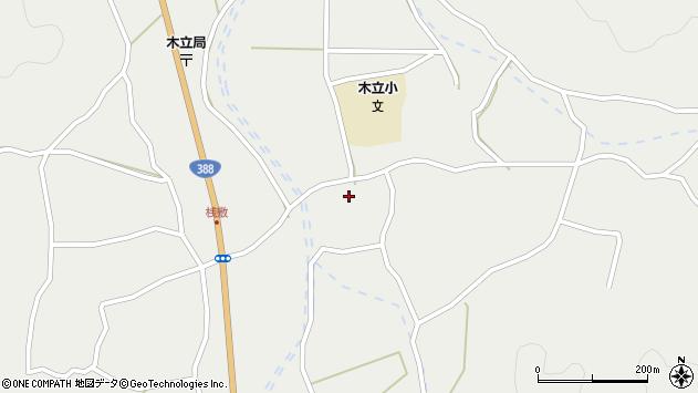 大分県佐伯市木立3354周辺の地図