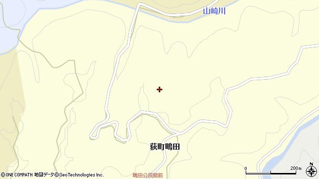 大分県竹田市荻町鴫田北周辺の地図