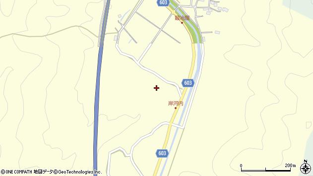 大分県佐伯市長谷4033周辺の地図
