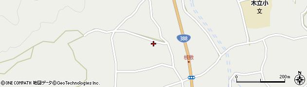 大分県佐伯市木立1468周辺の地図