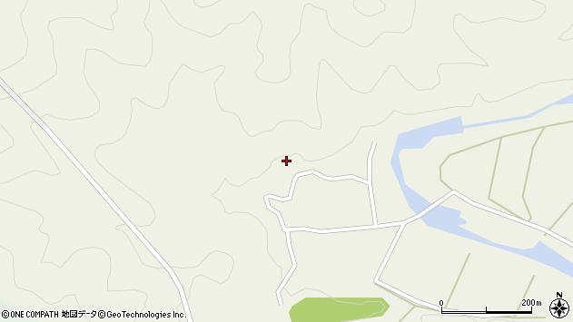 大分県佐伯市直川大字下直見811周辺の地図