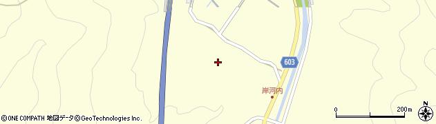 大分県佐伯市長谷4012周辺の地図