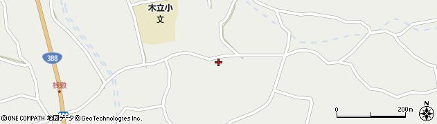 大分県佐伯市木立3515周辺の地図