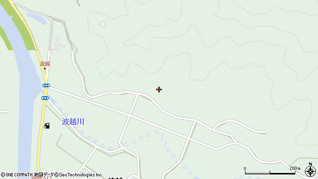大分県佐伯市堅田5204周辺の地図