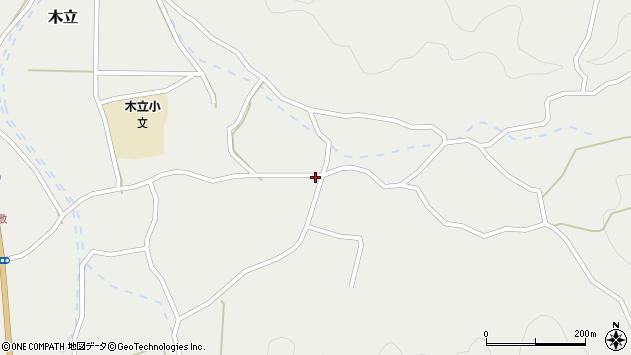 大分県佐伯市木立3602周辺の地図
