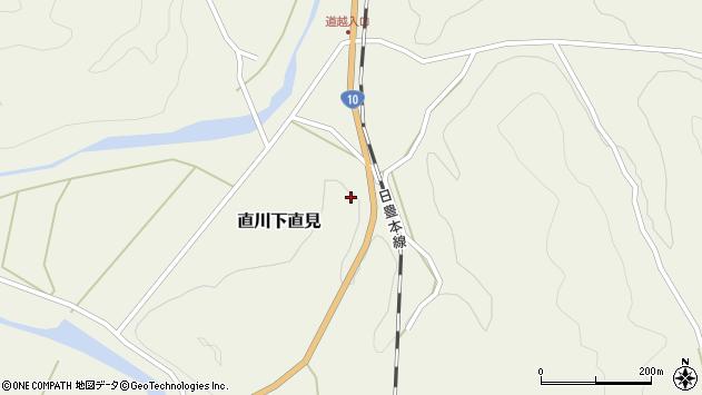 大分県佐伯市直川大字下直見4312周辺の地図