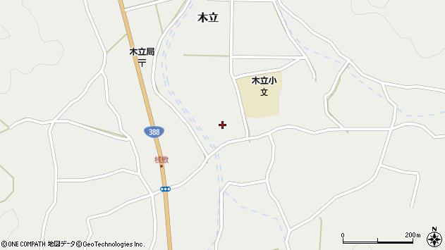 大分県佐伯市木立4425周辺の地図