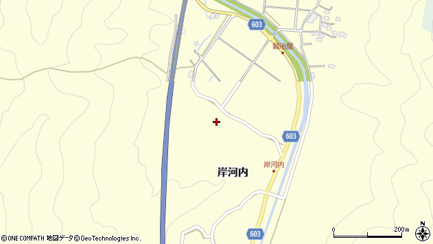 大分県佐伯市長谷3943周辺の地図