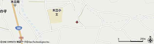大分県佐伯市木立3620周辺の地図