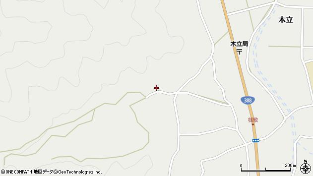 大分県佐伯市木立1088周辺の地図
