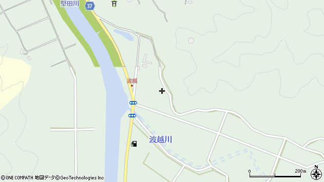大分県佐伯市堅田5247周辺の地図