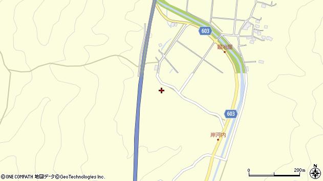 大分県佐伯市長谷3931周辺の地図