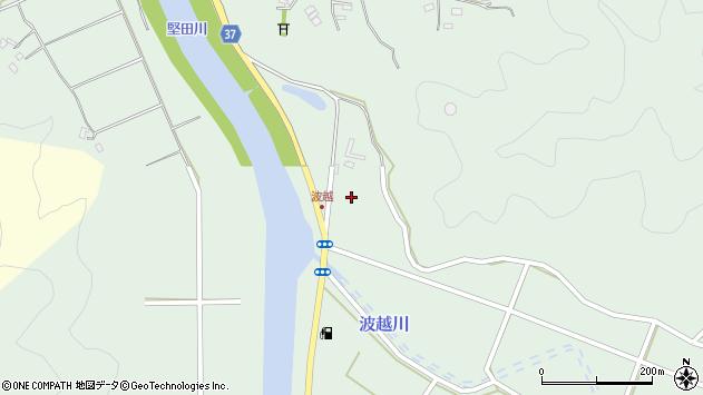大分県佐伯市堅田5320周辺の地図