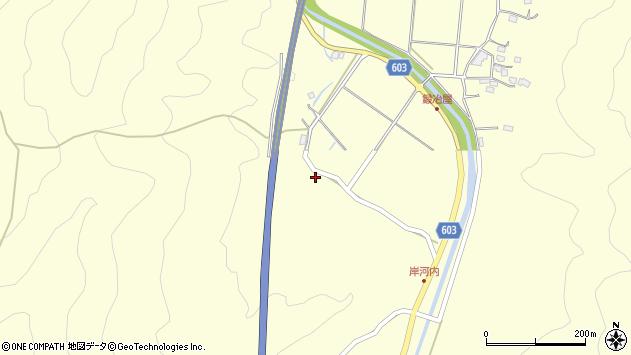 大分県佐伯市長谷3664周辺の地図