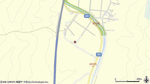 大分県佐伯市長谷4007周辺の地図