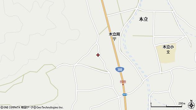 大分県佐伯市木立1410周辺の地図