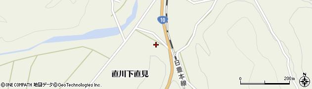 大分県佐伯市直川大字下直見4383周辺の地図