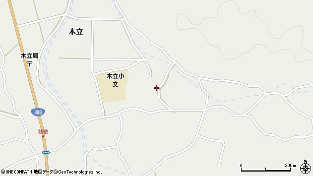 大分県佐伯市木立3626周辺の地図