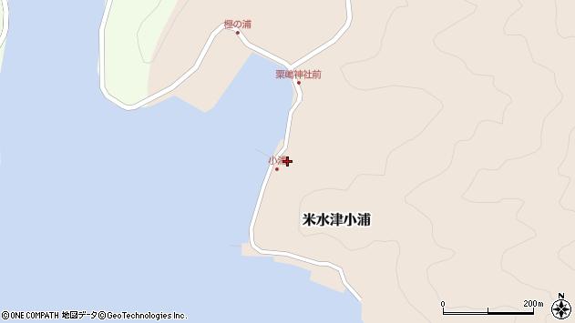 大分県佐伯市米水津大字小浦464周辺の地図