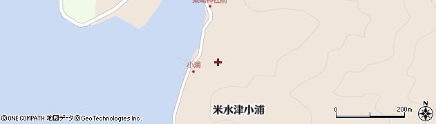 大分県佐伯市米水津大字小浦470周辺の地図