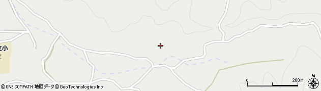 大分県佐伯市木立4217周辺の地図