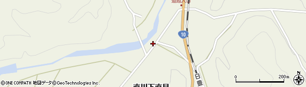 大分県佐伯市直川大字下直見4359周辺の地図