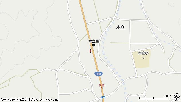 大分県佐伯市木立1409周辺の地図