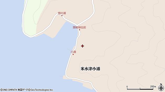 大分県佐伯市米水津大字小浦456周辺の地図