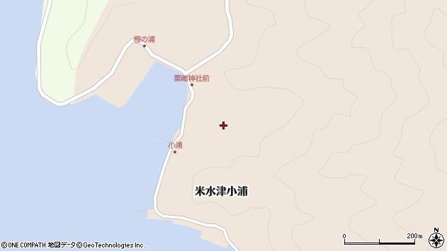 大分県佐伯市米水津大字小浦484周辺の地図