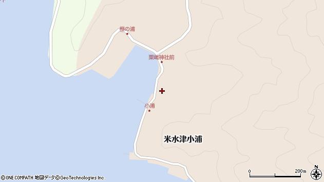 大分県佐伯市米水津大字小浦441周辺の地図